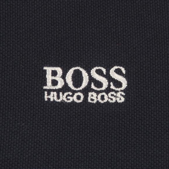 BOSS Bodywear Boys Blue Baby Tipped Polo Shirt main image