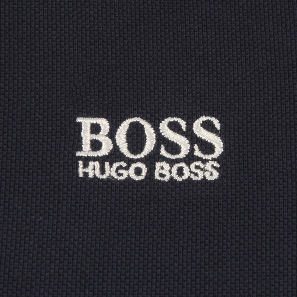 BOSS Loungewear Boys Blue Tipped Polo Shirt main image