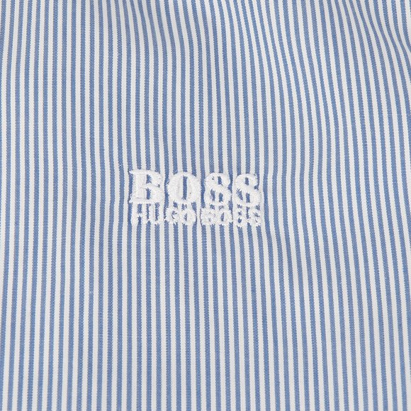 BOSS Bodywear Boys Blue Boys Stripe Shirt main image