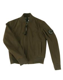 CP Company Undersixteen Boys Green Soft Shell Bomber Jacket