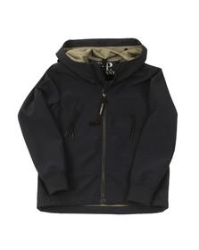 CP Company Undersixteen Boys Blue Lightweight Soft Shell Goggle Jacket