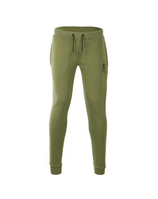 Gym king Mens Green Core Tracksuit Bottoms