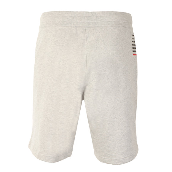 EA7 Emporio Armani Mens Grey Small Logo Sweat Shorts main image