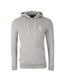 Gym king Mens Grey Overhead Hoody