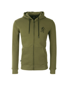 Gym king Mens Green Core Tracksuit Top