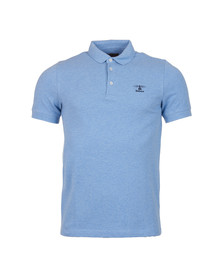 Barbour Heritage Mens Blue S/S Joshua Polo