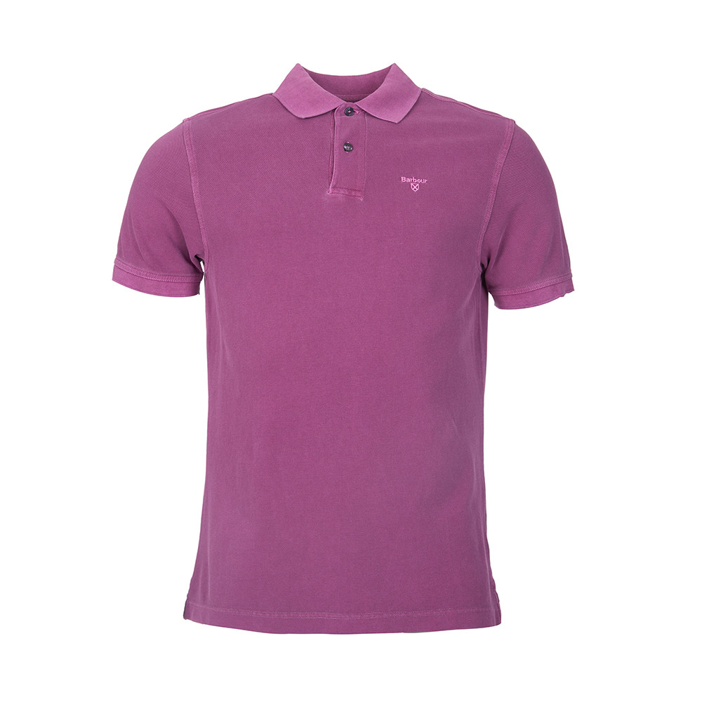 Washed Sports Polo main image