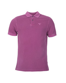 Barbour Lifestyle Mens Purple Washed Sports Polo