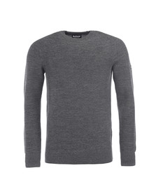 Barbour International Mens Black Silverton Crew Jumper