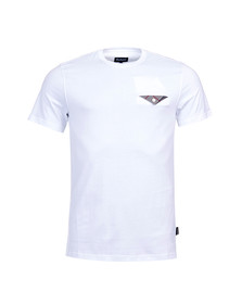 Barbour Lifestyle Mens White S/S Walshaw Tee