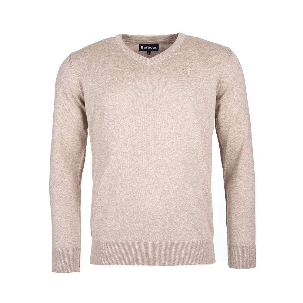 Pima Cotton V Neck Jumper main image