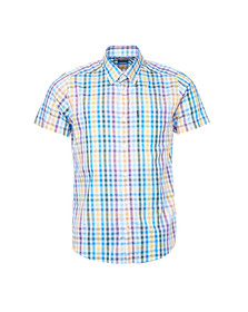 Barbour Lifestyle Mens Purple S/S Russell Shirt