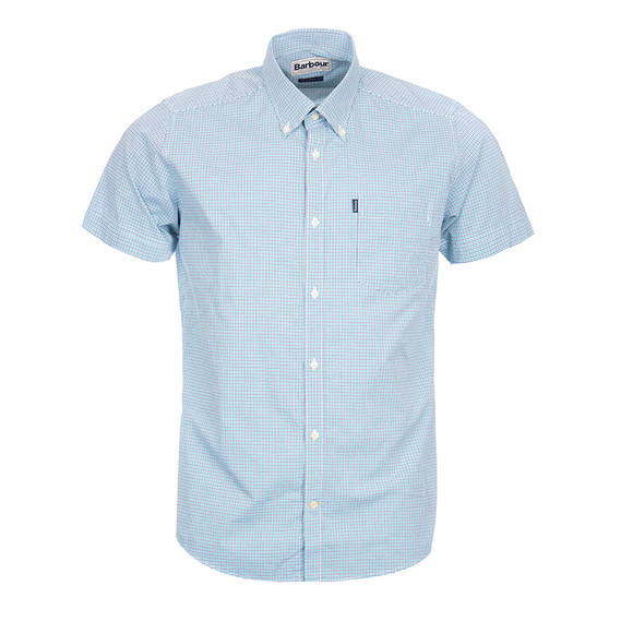 Barbour Lifestyle Mens Green S/S Leroy Shirt main image