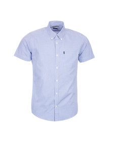 Barbour Lifestyle Mens Blue S/S Leroy Shirt