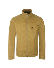 Barbour International Mens Beige Aspect Wax Jacket