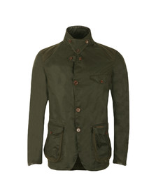Barbour Heritage Mens Green Beacon Sports Jacket