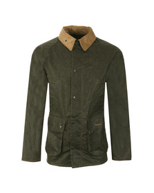 Barbour Heritage Mens Green Truss Wax Jacket