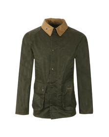 Barbour Heritage Mens Green Truss Wax Jacket