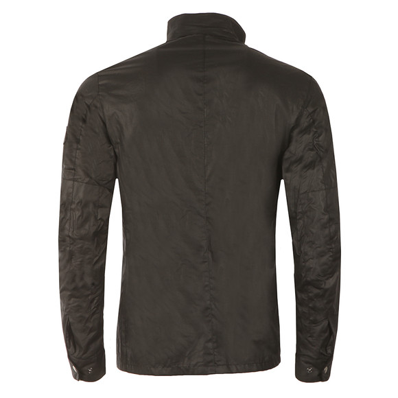 Barbour International Mens Black Enfield Wax Jacket main image