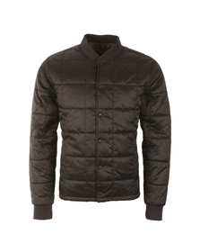 Barbour International Mens Black Worn Quilt Jacket