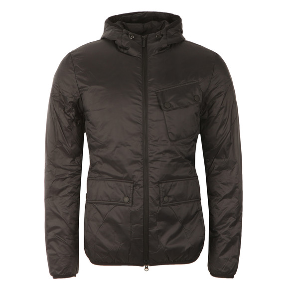 Barbour International Mens Black Catcher Quilt Jacket main image