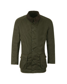 Barbour Lifestyle Mens Green  Bristol Wax Jacket