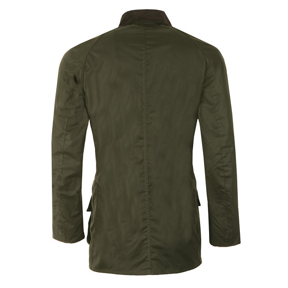 Barbour Lifestyle Mens Green  Bristol Wax Jacket main image