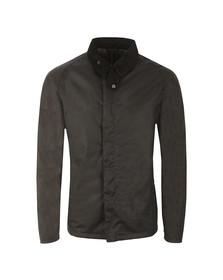Barbour Lifestyle Mens Blue Crofton Wax Jacket