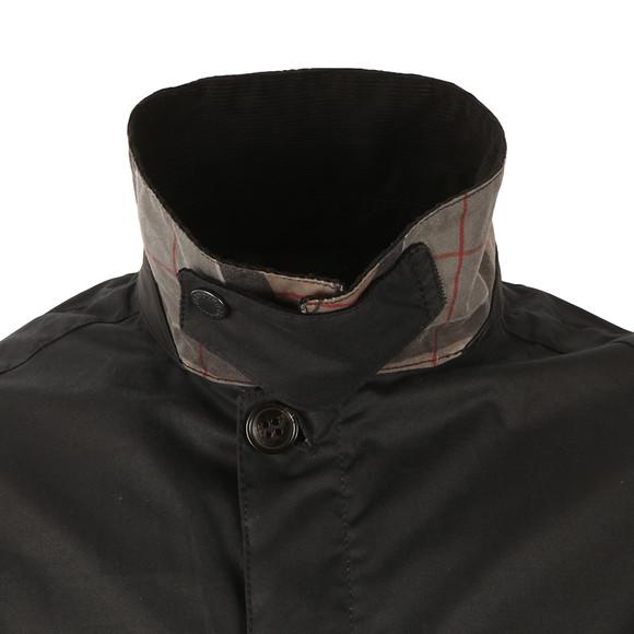 Barbour Lifestyle Mens Blue Crofton Wax Jacket main image