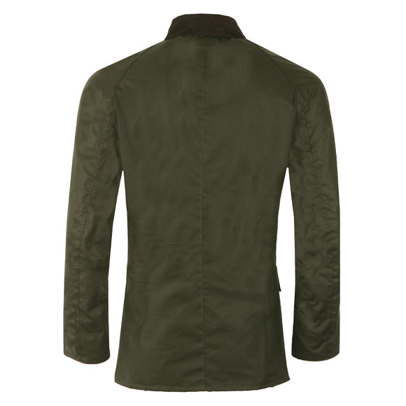 Barbour Lifestyle Mens Green Ashby Wax Jacket main image