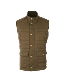 Barbour Countrywear Mens Green Explorer Baffle Gilet