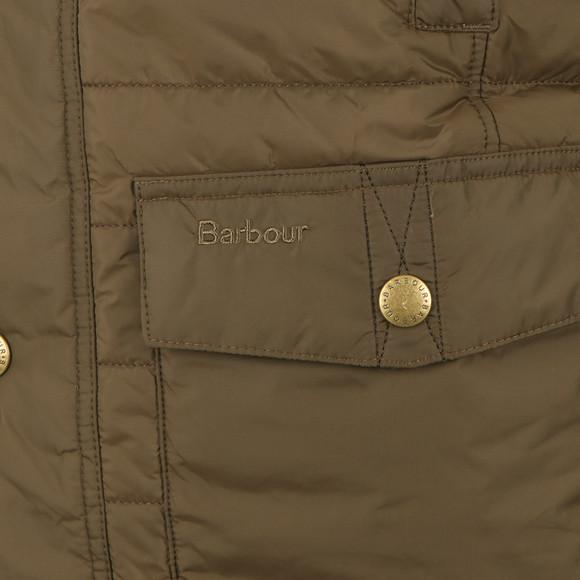 Barbour Countrywear Mens Green Explorer Baffle Gilet main image