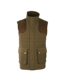 Barbour Sporting  Mens Green Avocet Quilted Gilet