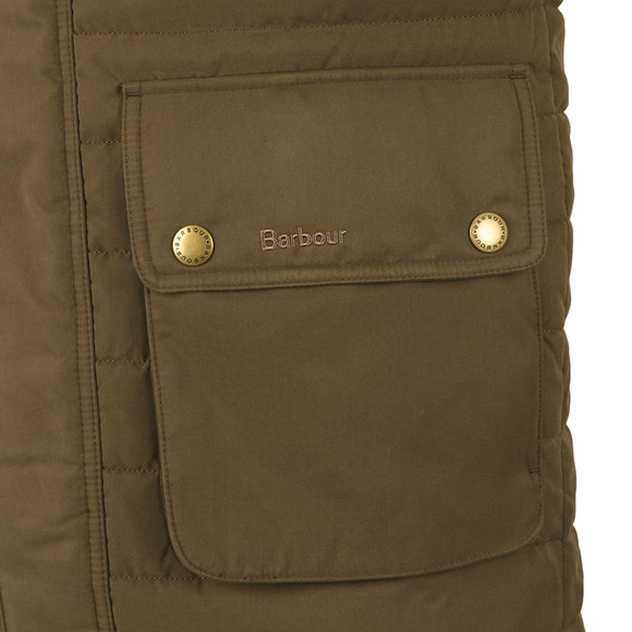Barbour Sporting  Mens Green Avocet Quilted Gilet main image
