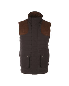 Barbour Sporting  Mens Blue Avocet Quilted Gilet