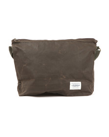 Barbour Lifestyle Mens Green Freeboard Messenger Bag