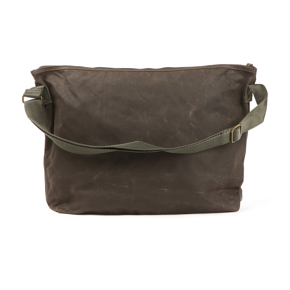 Barbour Lifestyle Mens Green Freeboard Messenger Bag main image