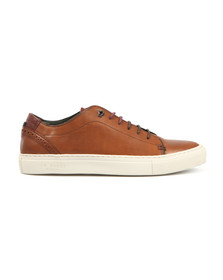 Ted Baker Mens Brown Kiing Leather Trainer