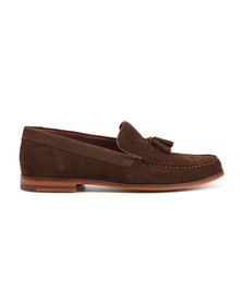 Ted Baker Mens Brown Dougge Suede Shoe