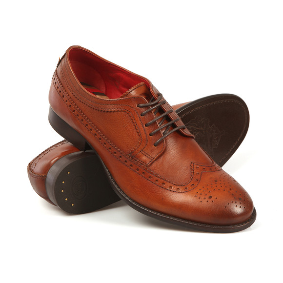 Base London Mens Brown Bailey Shoe main image