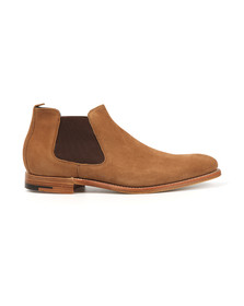 Barker Mens Brown Lester Suede Boot