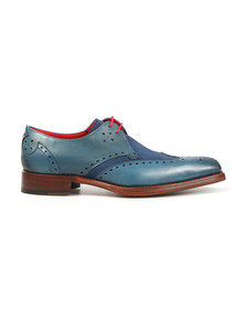 Jeffery West Mens Blue Code Dexter Calf/Suede Shoe