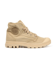 Palladium Mens Beige Pampa Hi Canvas Boot
