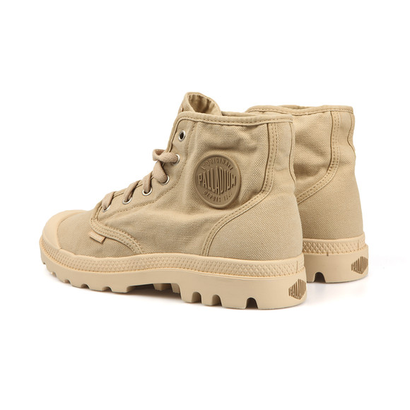 Palladium Mens Beige Pampa Hi Canvas Boot main image