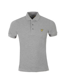 Lyle and Scott Mens Grey S/S Plain Polo