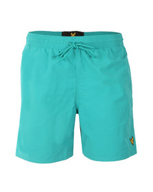 Lyle and Scott Mens Green Swim Short