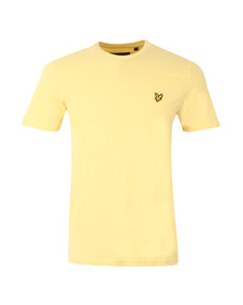 Lyle and Scott Mens Yellow S/S T-Shirt