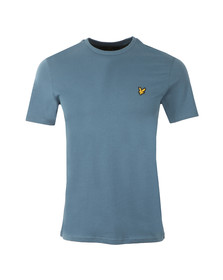 Lyle and Scott Mens Blue S/S T-Shirt