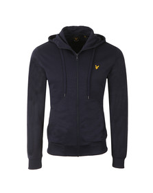 Lyle and Scott Mens Blue Funnel Neck Tricot Jacket