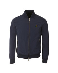 Lyle and Scott Mens Blue Bomber Jacket